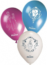 Disney Frozen Latex Balloons 8 Pack